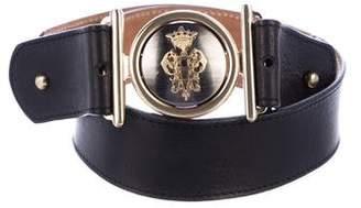 Emilio Pucci Embellished Leather Belt