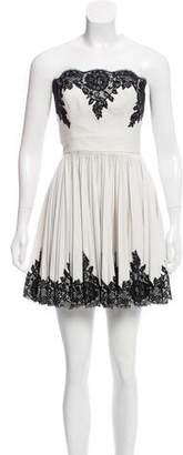 Robert Rodriguez Sleevless Mini Dress