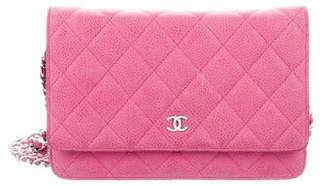 Chanel Quilted Wallet On Chain