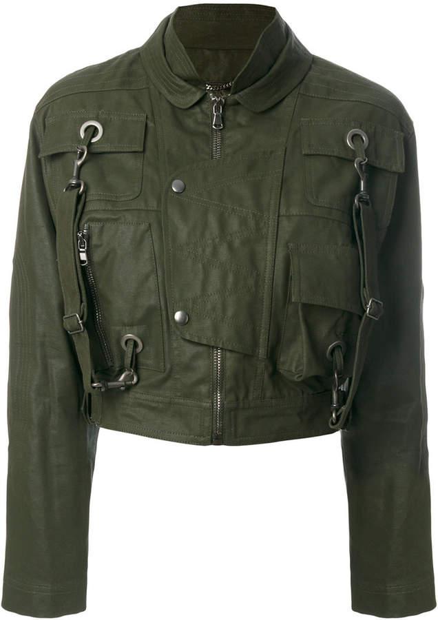 Moschino cropped jacket