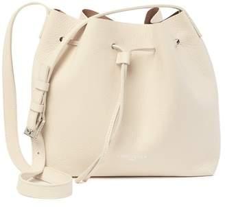 Lancaster Paris Pur Element Foulonne Leather Crossbody Bucket Bag