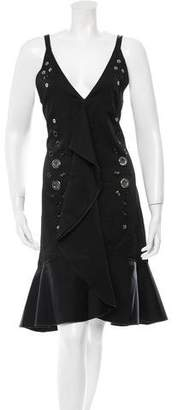 Proenza Schouler Sleeveless Embellished Dress w/ Tags
