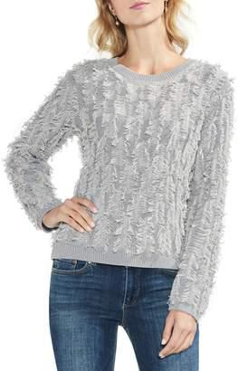 Vince Camuto Fringe Sweater