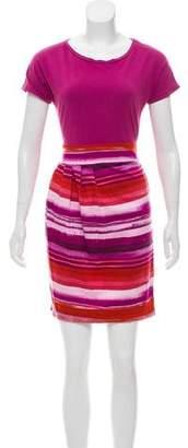 Max Mara Weekend Short Sleeve Mini Dress