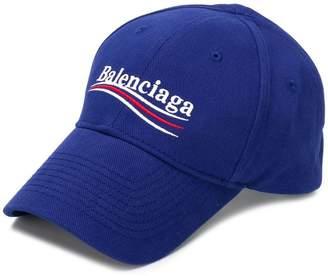 Balenciaga New Political logo baseball cap