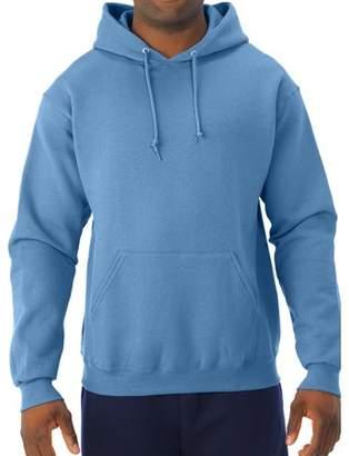 JERZEES Big Mens Soft Medium-Weight Fleece Hooded Pullover Sweatshirt