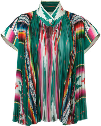 Sacai pleated top $1,651 thestylecure.com