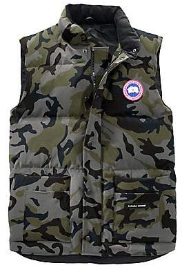 Canada Goose Men's Freestyle Slim-Fit Camouflage Down Puffer Vest