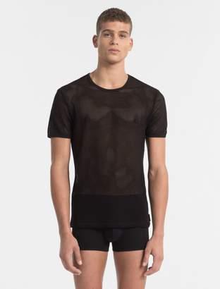 Calvin Klein body mesh crewneck t-shirt