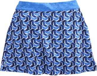 Vineyard Vines Girls Printed Whaletail Flounce Skort