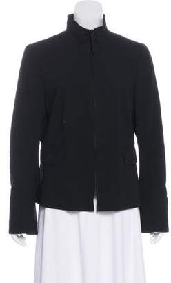 Akris Punto Wool-Blend Zip-Up Jacket