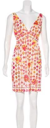 Emilio Pucci Vintage Sleeveless Printed Dress