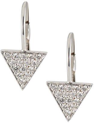 Penny Preville 18k Diamond Triangle Stud Earrings M4ihU
