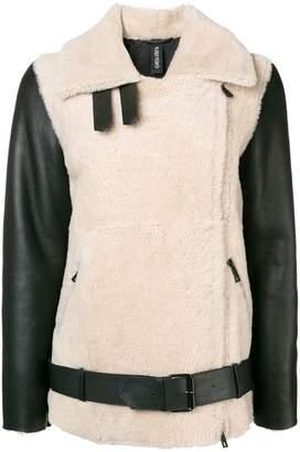 Giorgio Brato oversized shearling jacket