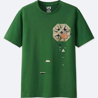 Uniqlo The Game By Namco Museum Short-sleeve Graphic T-Shirt (xevious)