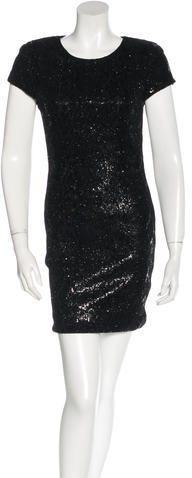 Alice + Olivia Alice + Olivia Sequined Mini Dress