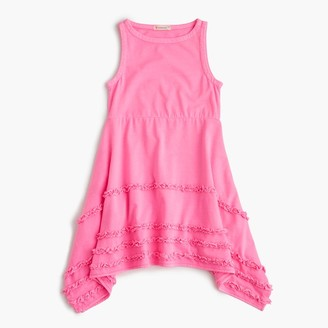 Girls' ruffle handkerchief dress $65 thestylecure.com