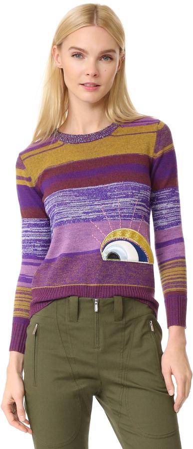 Marc JacobsMarc Jacobs Long Sleeve Crew Neck Sweater