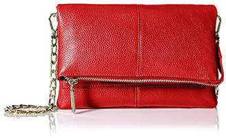 Zenith Women's Small Flap Cross-Body with Chain Strap