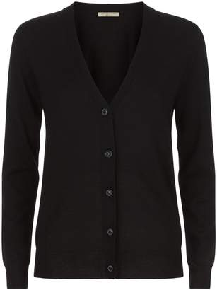 Burberry Elbow Patch Cardigan