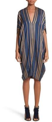 Zero Maria Cornejo Stripe Dress
