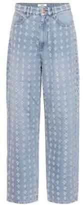 Etoile Isabel Marant Isabel Marant, Étoile Cory distressed jeans
