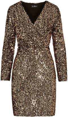 Sam Edelman Sequin V-Neck Dress