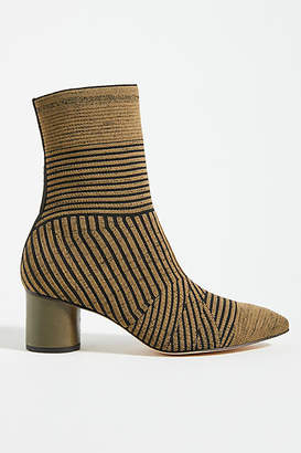 Vicenza Pointed-Toe Stretch Ankle Boots