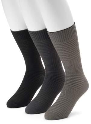 Levi's Levis Men's 3-pack Waffle-Weave Crew Socks