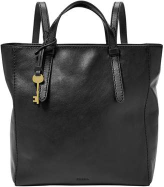 Fossil Small Camilla Convertible Leather Backpack