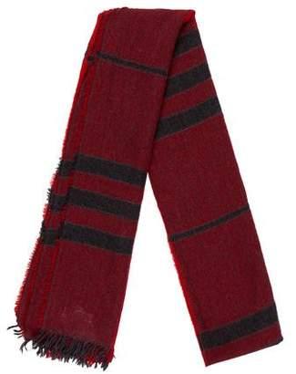 Burberry Nova Check Wool Blend Scarf