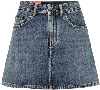 Acne Studios Bla Konst Caitlyn denim miniskirt