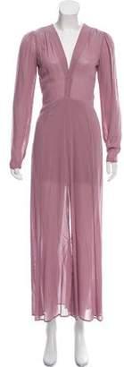 Reformation Chiffon Evening Dress