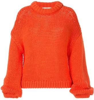 Tibi drop shoulder sweater