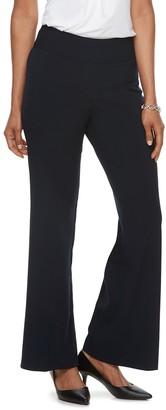 Dana Buchman Women's Midrise Wide-Leg Pull-On Pants