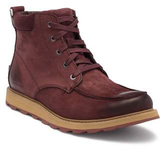 Sorel Madson Moc Toe Waterproof Suede Chelsea Boot