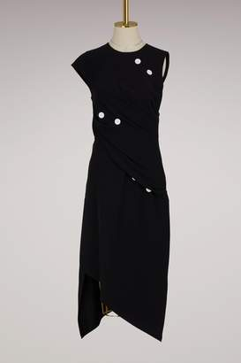 Proenza Schouler Spiral satin dress