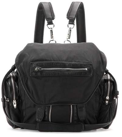 Alexander Wang Marti leather-trimmed backpack