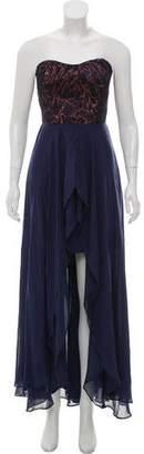 Nicole Miller Strapless Cocktail Dress