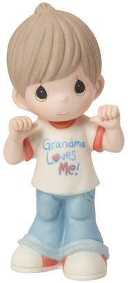 "Precious Moments Grandma Loves Me"" Boy Figurine"