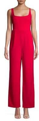 Calvin Klein Sleeveless Wide-Leg Jumpsuit