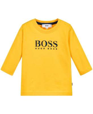 HUGO BOSS Kids Classic Logo Long Sleeved T-shirt