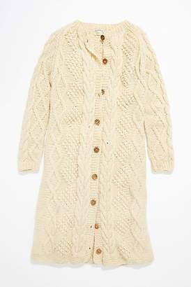 Vintage Loves Vintage 1960s Hand Knit Cardigan