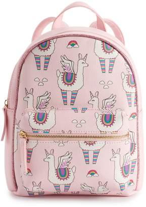 e4f766fafe Omg Accessories OMG Accessories Flying Rainbow Llama Unicorn Mini Backpack
