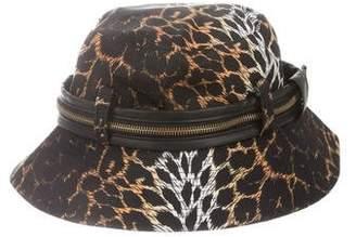 f8cd0740433 Jeremy Scott Leopard Print Bucket Hat