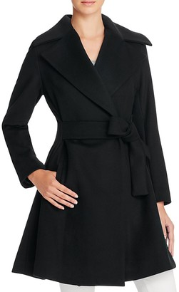 Trina Turk Violet Fit-and-Flare Coat $545 thestylecure.com