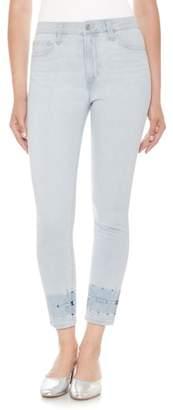 Joe's Jeans The Charlie High Waist Crop Skinny Jeans