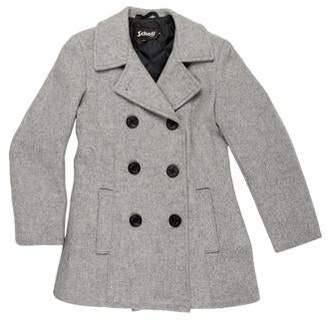 Schott NYC Double-Breasted Peacoat