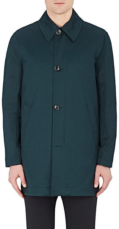 Paul SmithPaul Smith Men's Gabardine Mac Trench Coat