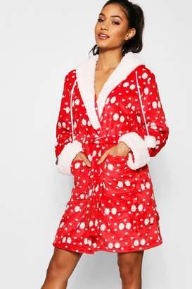 boohoo Novelty Penguin Print Gown